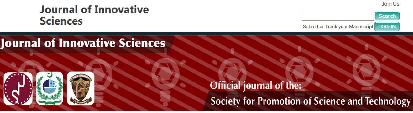 Journal of Innovative Sciences (JIS)